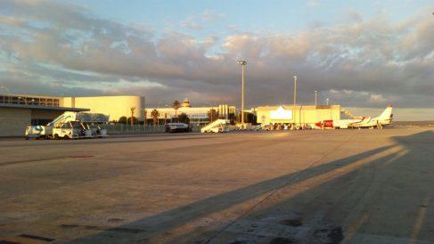 Pista del aeropuerto de Son Sant Joan, Palma.
