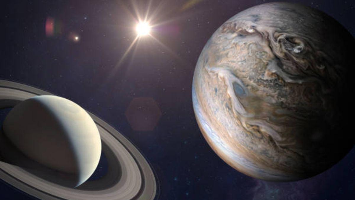 Qué es y cómo ver la gran conjunción entre Júpiter y Saturno