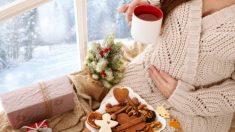 Consejos para poder cuidarse en el embarazo tras los exceso de la Navidad