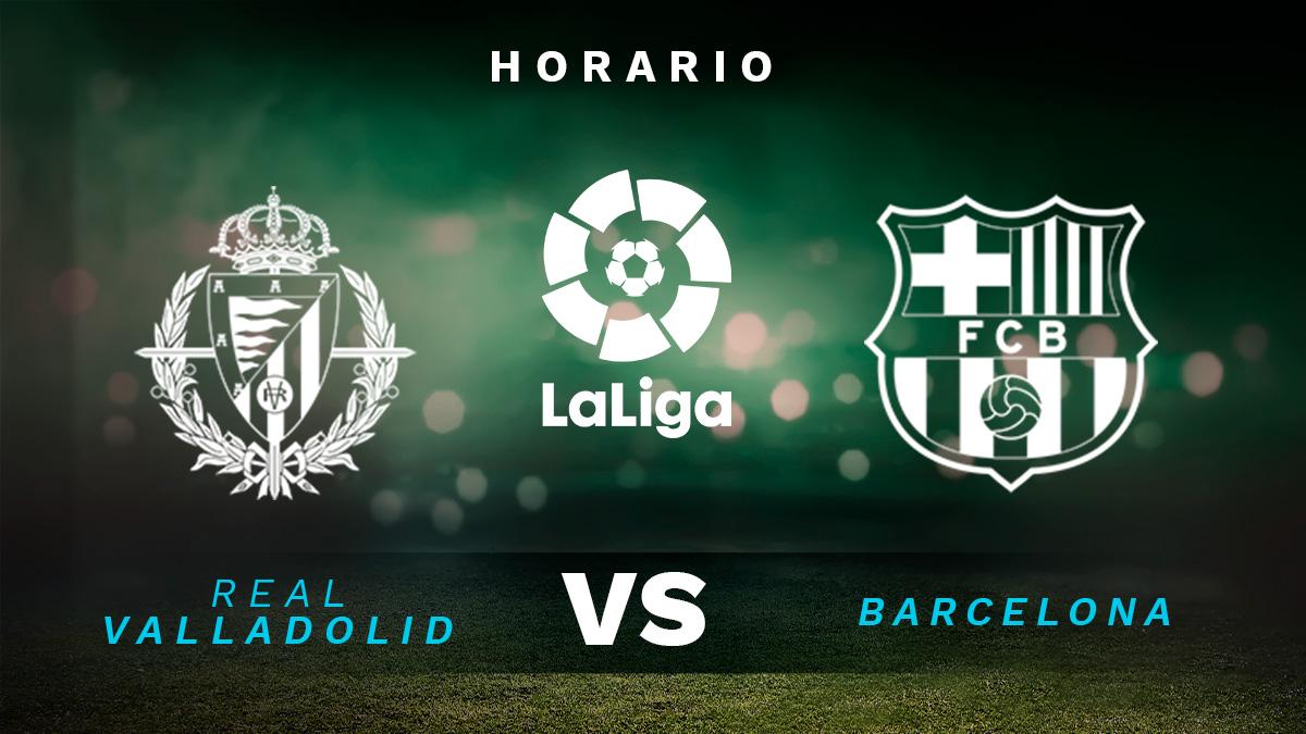 Liga Santander 2020-2021: Valladolid – Barcelona| Horario del partido de fútbol de la Liga Santander.