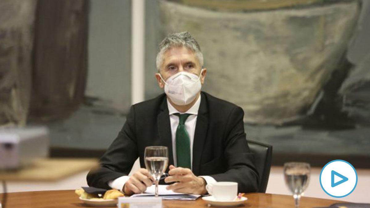 El ministro del Interior, Fernando Grande-Maslaska.