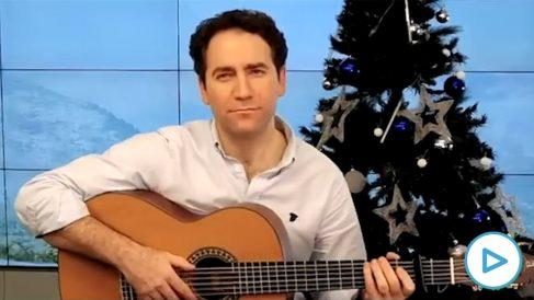 García Egea felicita la Navidad con un villancico flamenco.