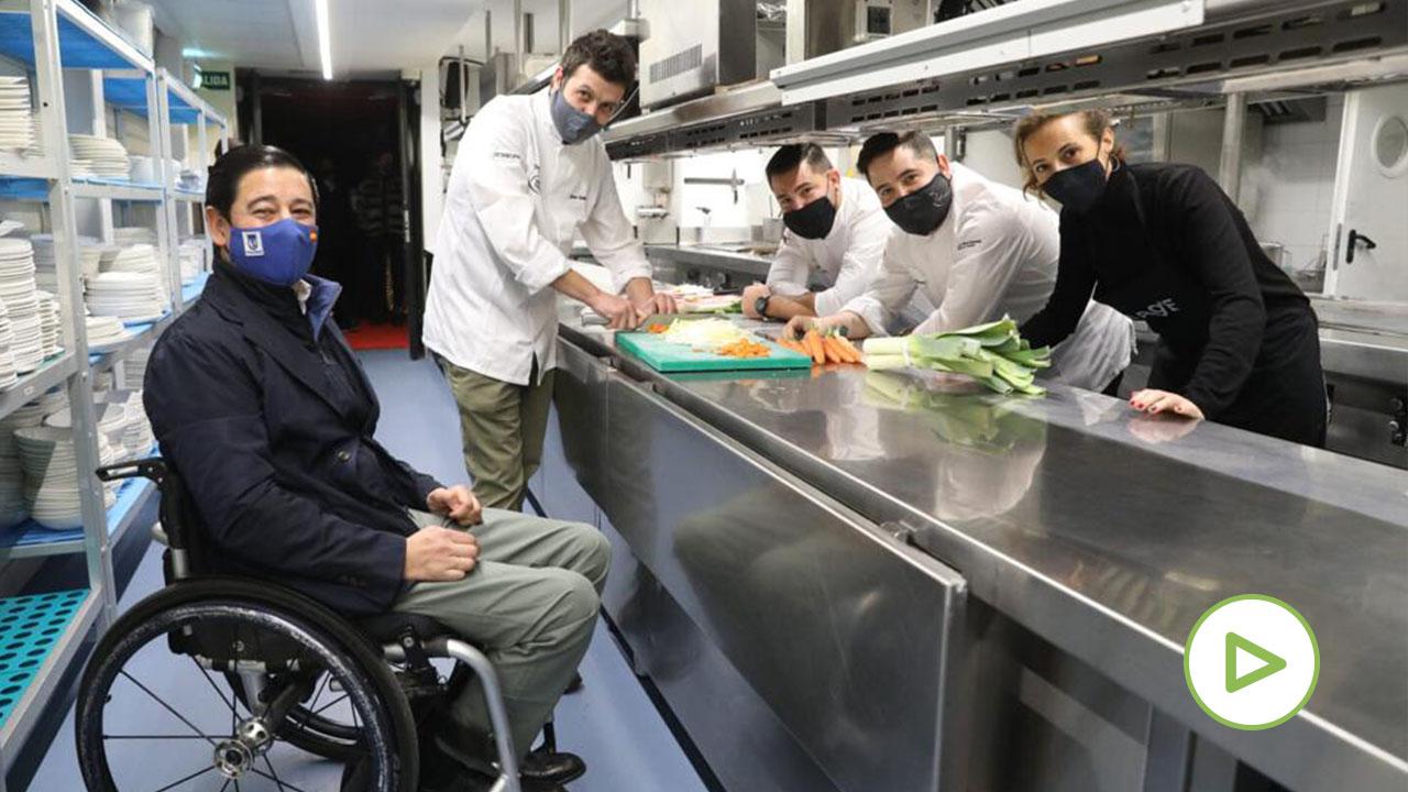 El reparto solidario de Provacuno: 1.000 comidas de carne en 1 hora