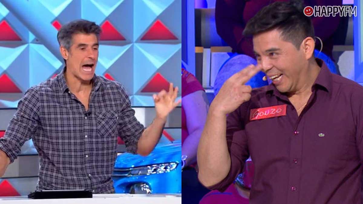 La ruleta de la suerte: Jorge Fernández pilla a un concursante haciendo trampas
