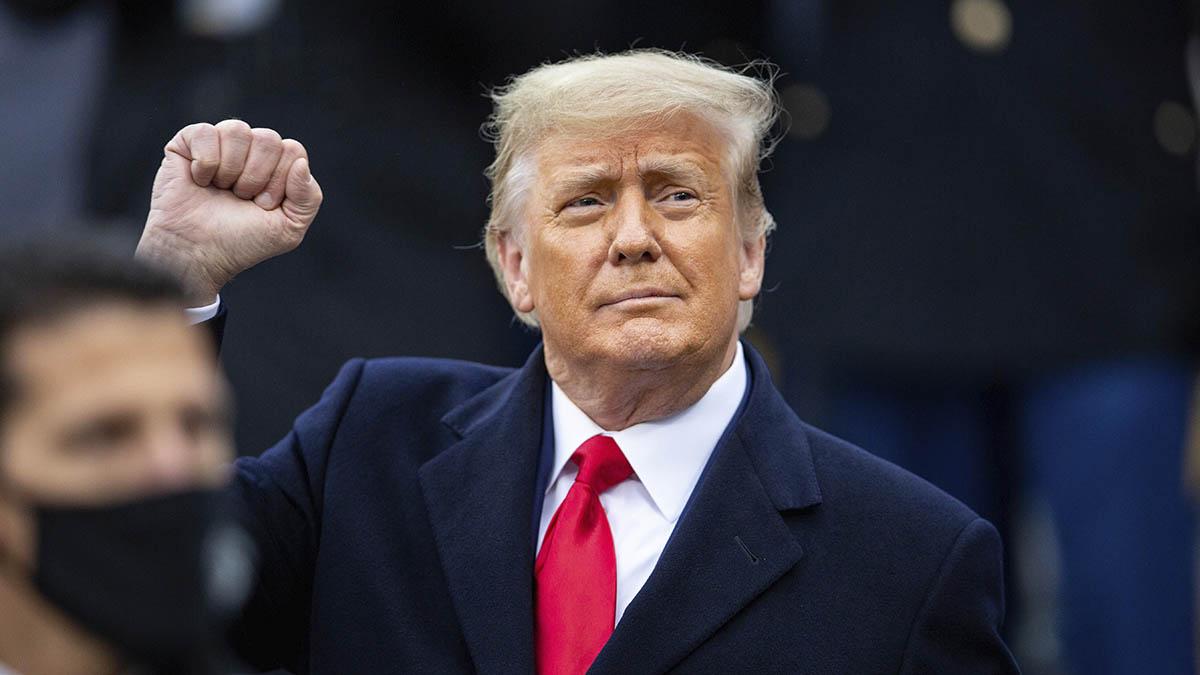 Donald Trump en una reciente imagen.