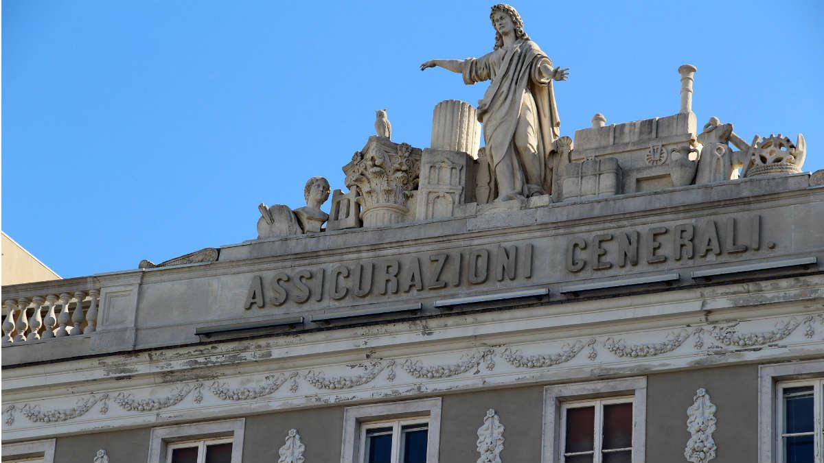 Cuarteles generales de Seguros Generali en Trieste, Italia