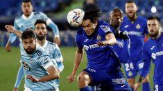 Getafe y Celta se midieron durante la jornada 15 de Liga. (EFE)