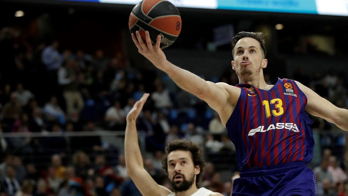 Heurtel, en un partido con el Barcelona (Getty)
