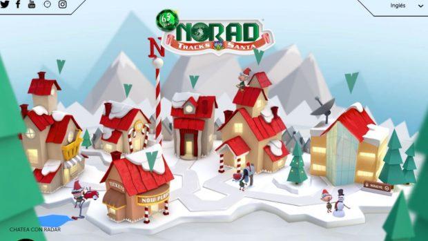 seguir viaje Papá Noel