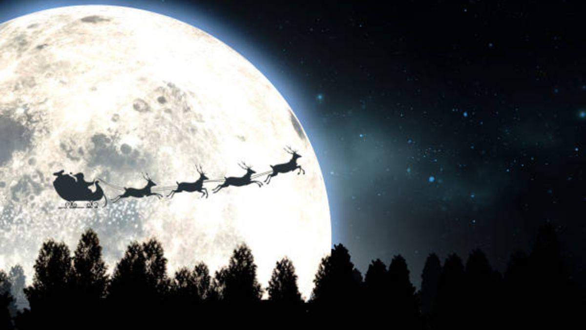 Páginas y aplicaciones para no perderse el viaje de Papá Noel en esta Nochebuena
