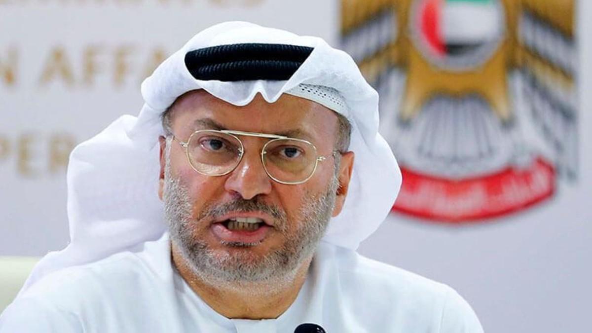 El ex ministro de Estado de Asuntos Exteriores de Emiratos Árabes Unidos, Anwar Gargash