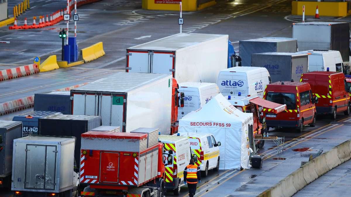 El PP presenta una iniciativa para que el Gobierno traiga a los camioneros atrapados en Reino Unido. Foto: EP