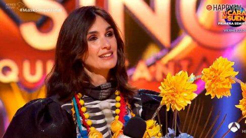 Mask Singer: Paz Vega se escondía bajo la máscara de Catrina