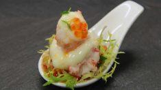 Receta de salpicón de marisco, sinónimo de buena comida