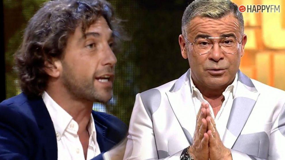 Antonio Pavón y Jorge Javier Vázquez en La casa fuerte
