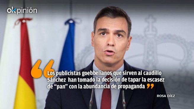 La España del caudillo Sánchez: poco pan y mucho circo