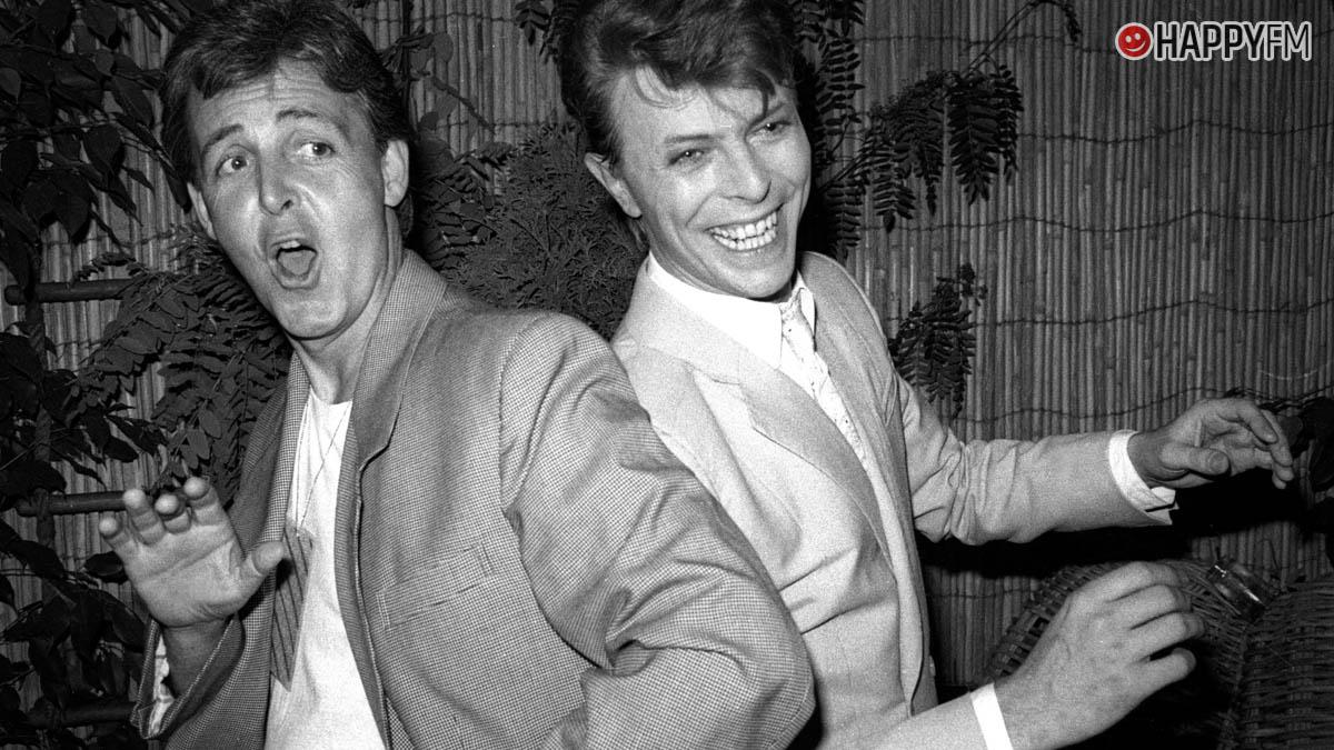 Paul McCartney y David Bowie
