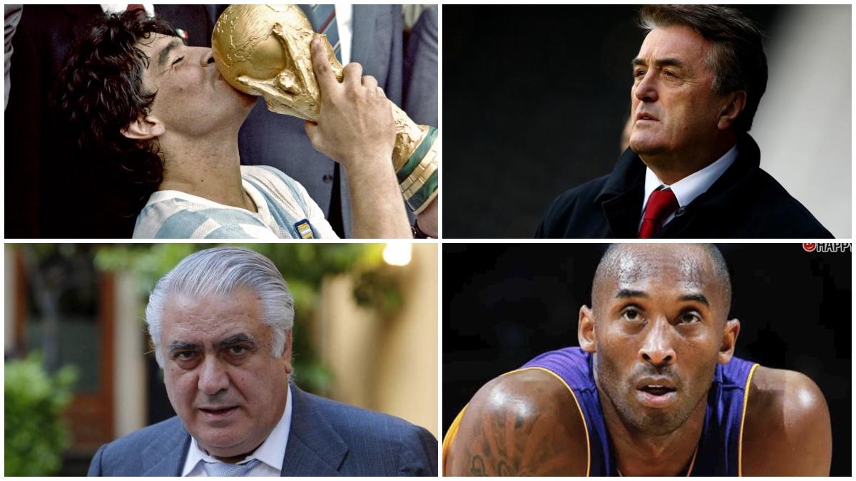 Algunos de los deportistas que nos dejaron en este trágico 2020.