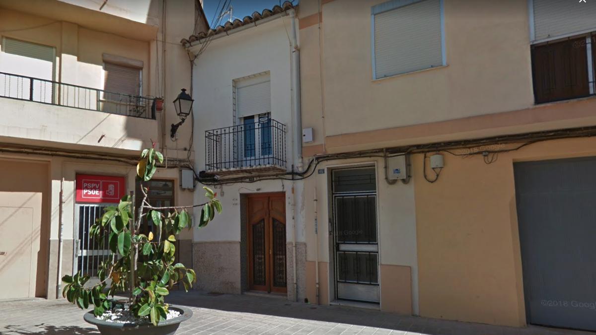 Sede del PSPV en la localidad de Chiva, en Valencia.