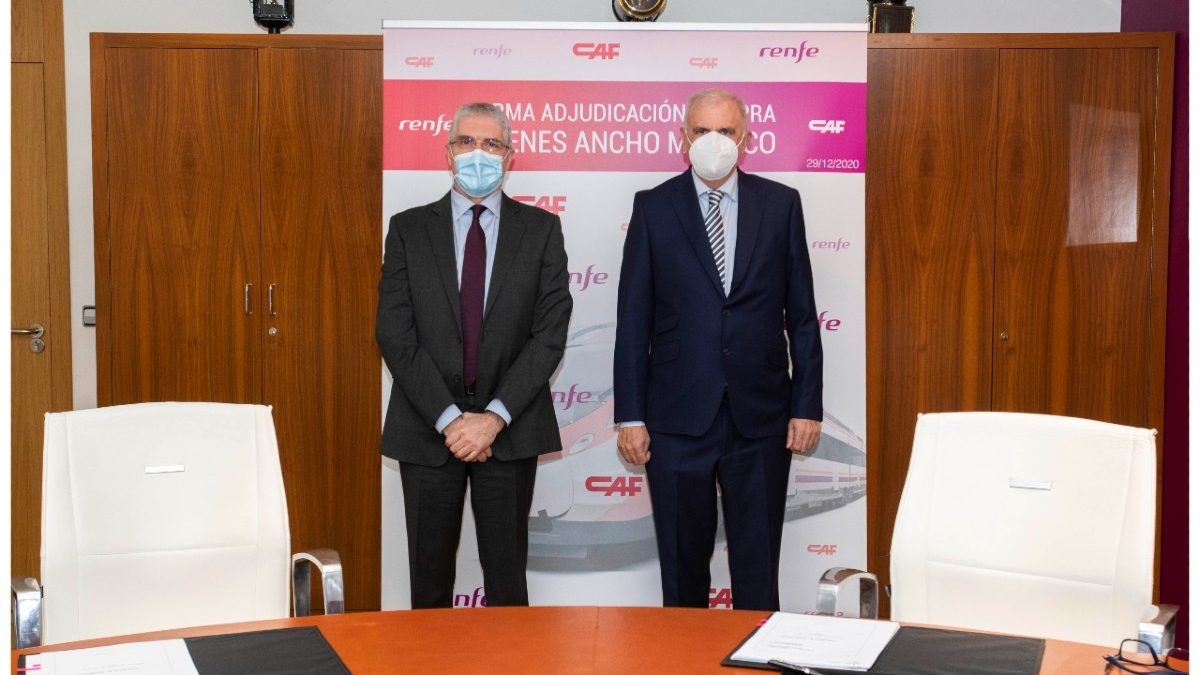 Renfe firma con CAF un contrato de 258 millones. Europa Press