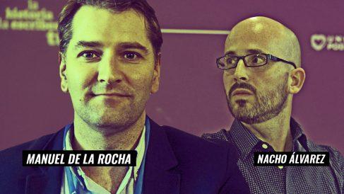 Manuel de la Rocha y Nacho Álvarez.
