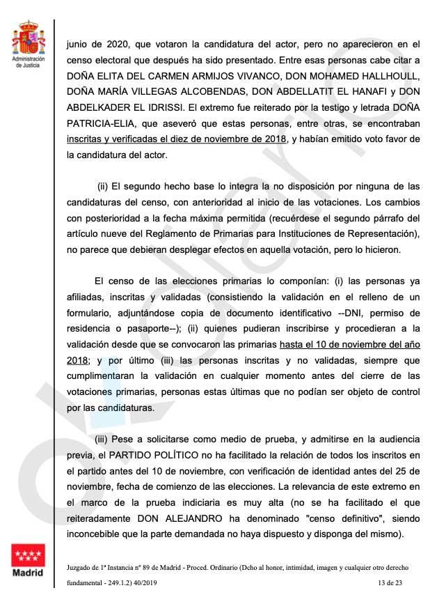 Un juez declara nulas las primarias de Podemos en Villalba por «fraude electoral»