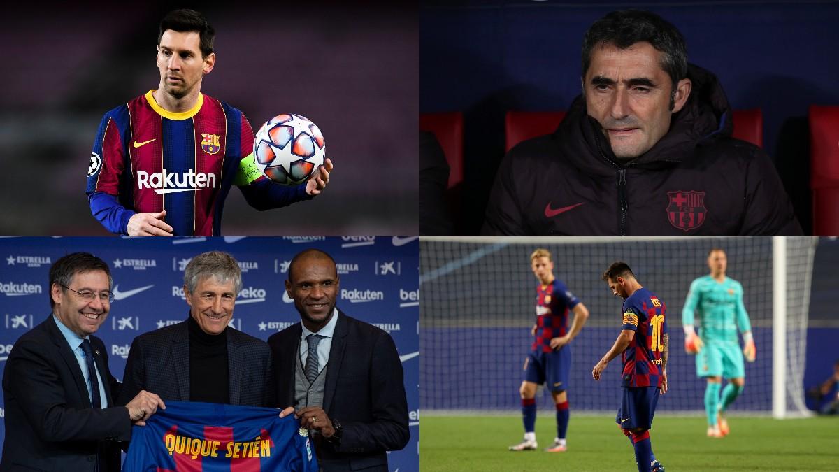 Así ha sido el 2020 del Barcelona.