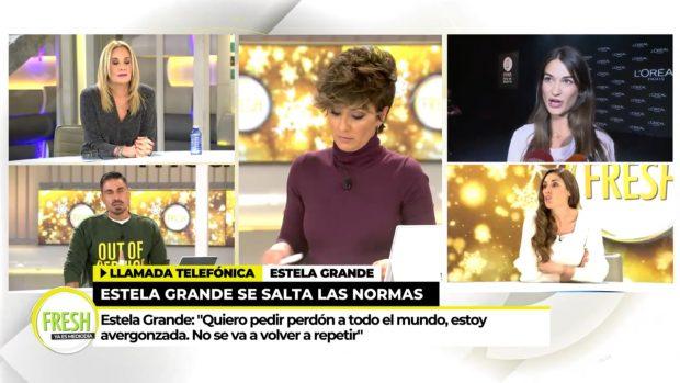 Estela Grande llamó a 'Ya es mediodía' para pedir perdón por su comportamiento