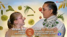 Josie en 'Masterchef Junior'