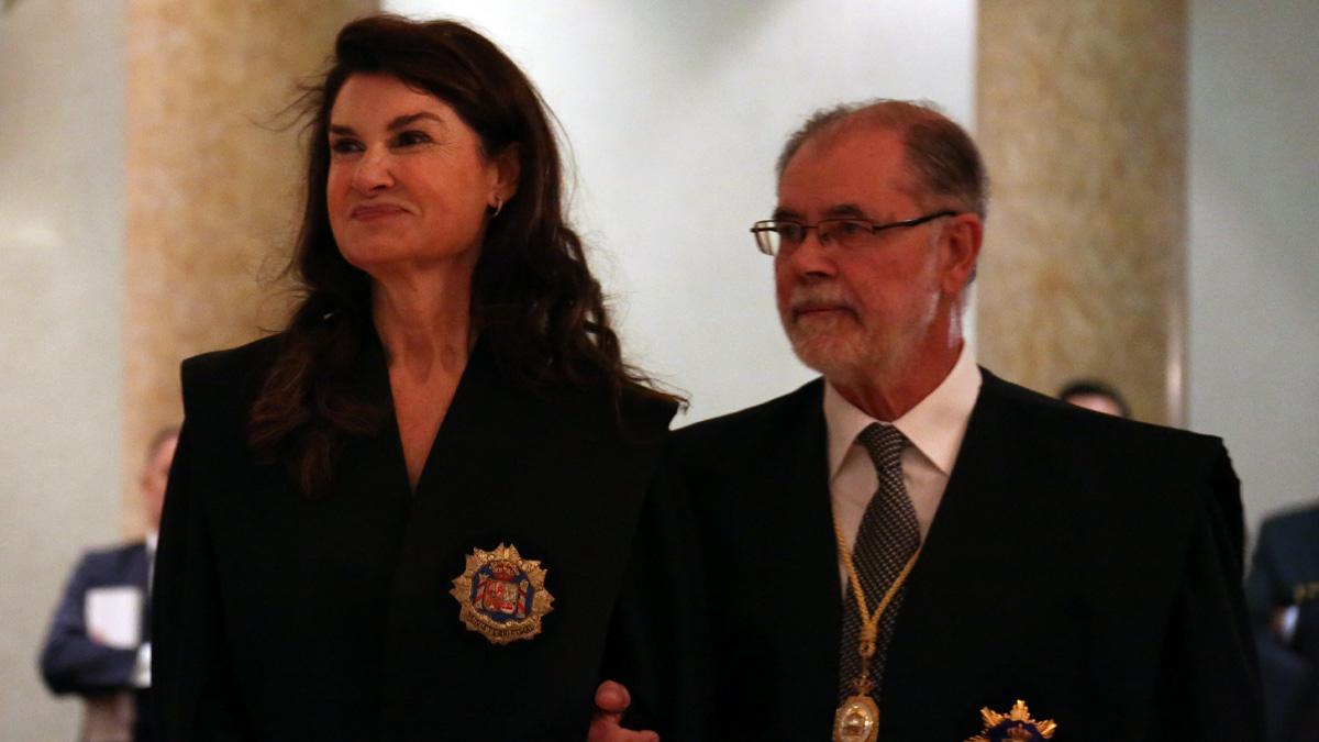 La fiscal María Pilar Rodríguez y el ex ministro de Justicia Mariano Fernández Bermejo