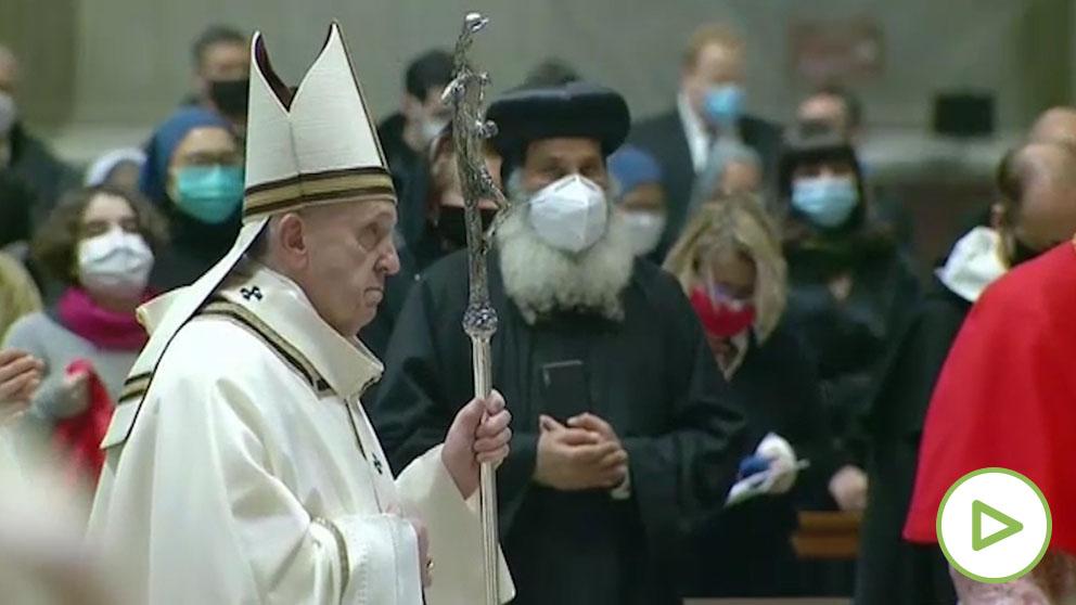 Una ciática impide al Papa Francisco dirigir los servicios de Nochevieja y Año Nuevo.