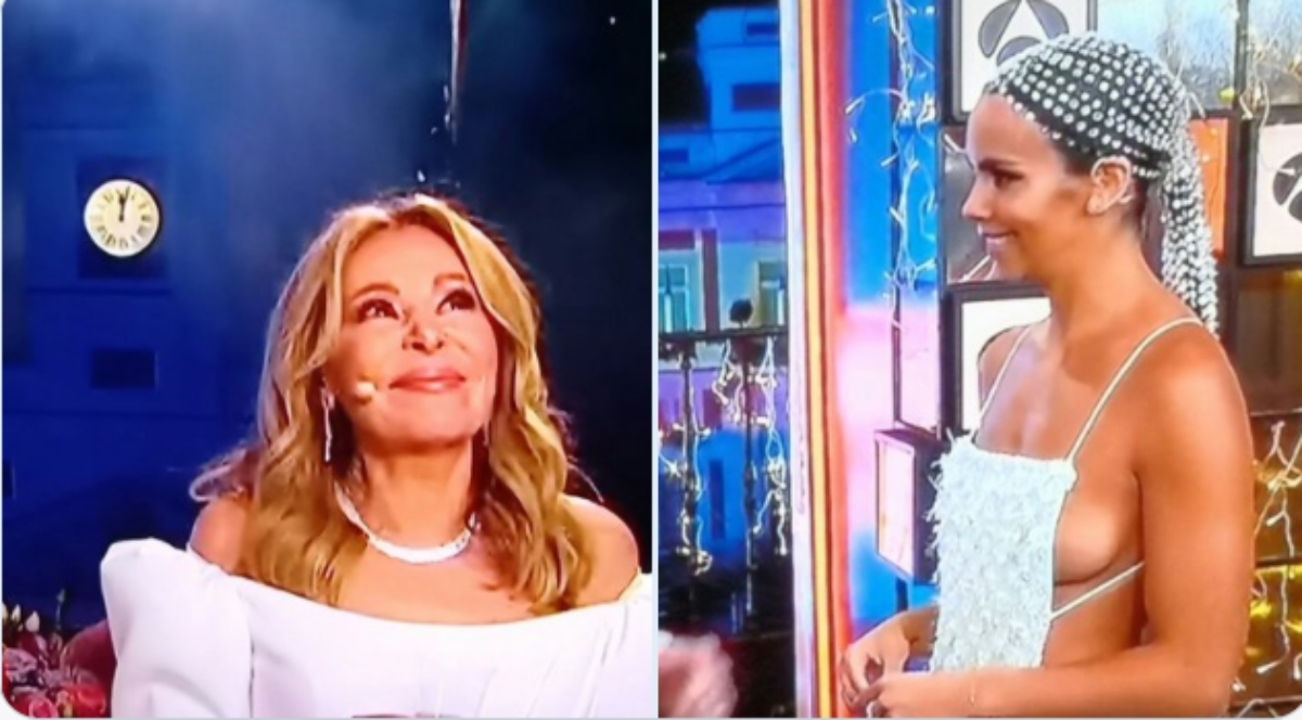 Los looks de las presentadoras en las campanadas de Nochevieja