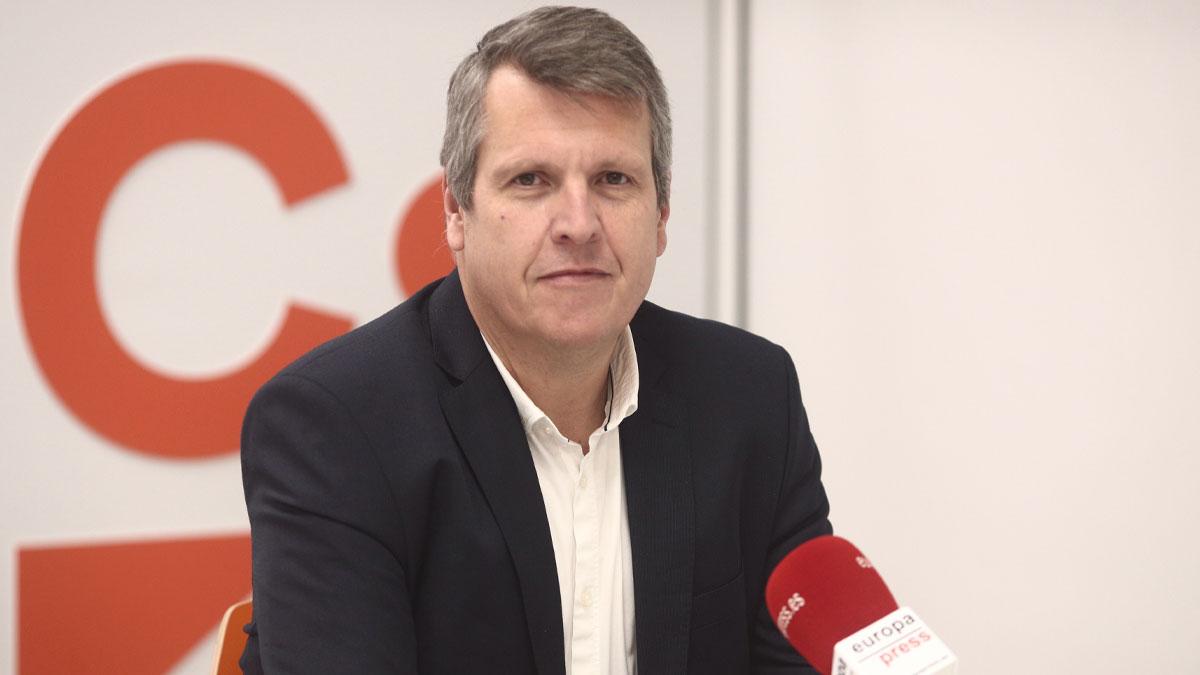 El vicesecretario general de Ciudadanos, Carlos Cuadrado (Foto: EP)