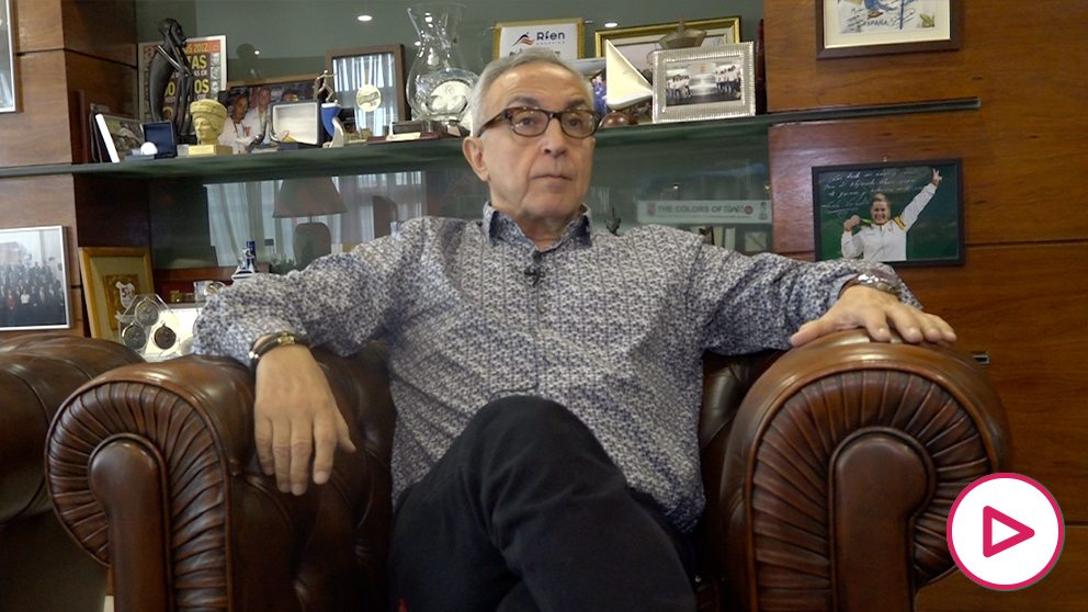 Alejandro Blanco, durante su entrevista con OKDIARIO.