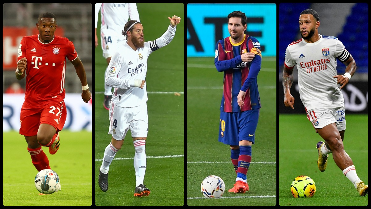 El once de los jugadores que ya son gratis. (AFP)