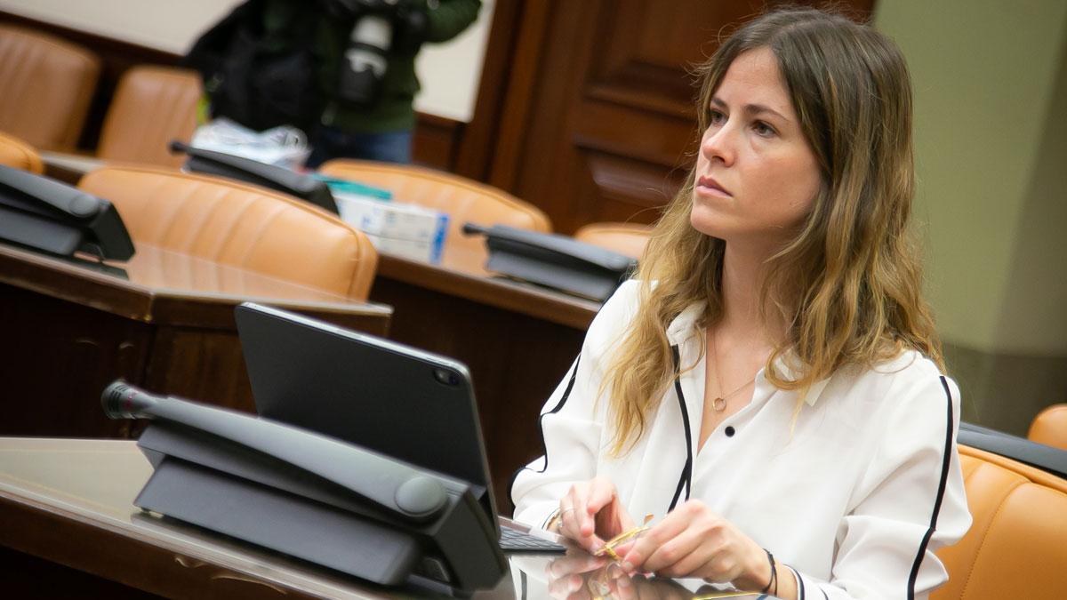 La presidenta de Nuevas Generaciones del PP, Bea Fanjul.