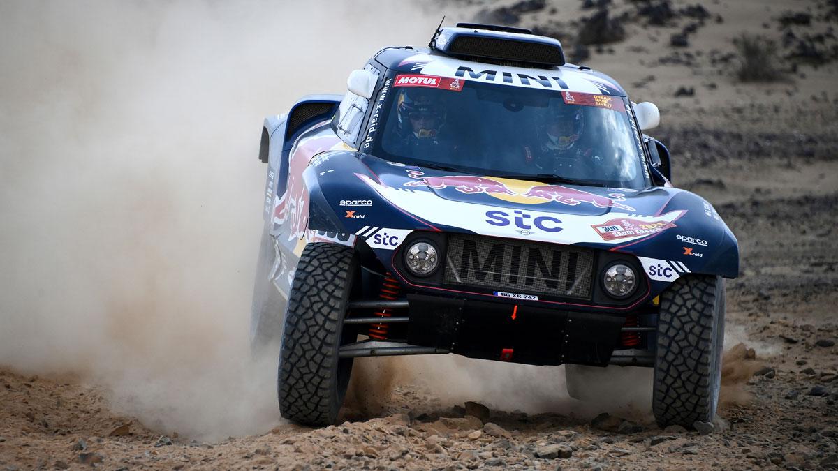 Carlos Sainz busca su cuarto Dakar (AFP)