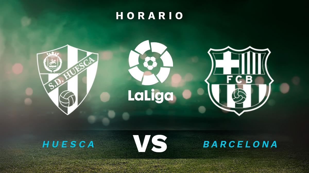 Liga Santander 2020-2021: Huesca – Barcelona | Horario del partido de fútbol de la Liga Santander.