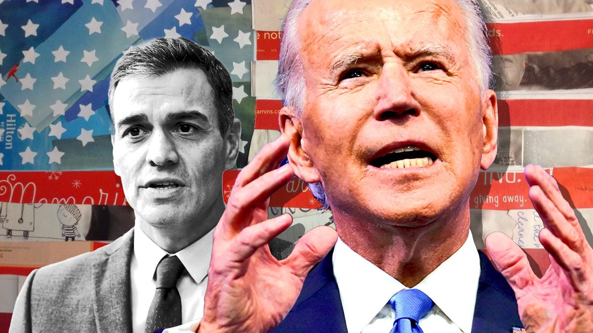 Biden responde a la tasa Google de Sánchez con aranceles al calzado español