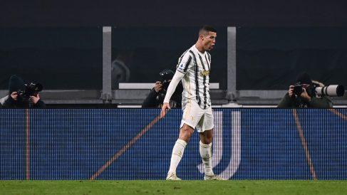 Cristiano celebra un gol con la Juventus. (AFP)