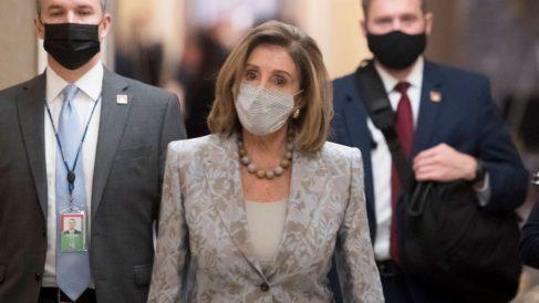 La presidenta de la Cámara de Representantes de Estados Unidos, Nancy Pelosi. Foto: EP