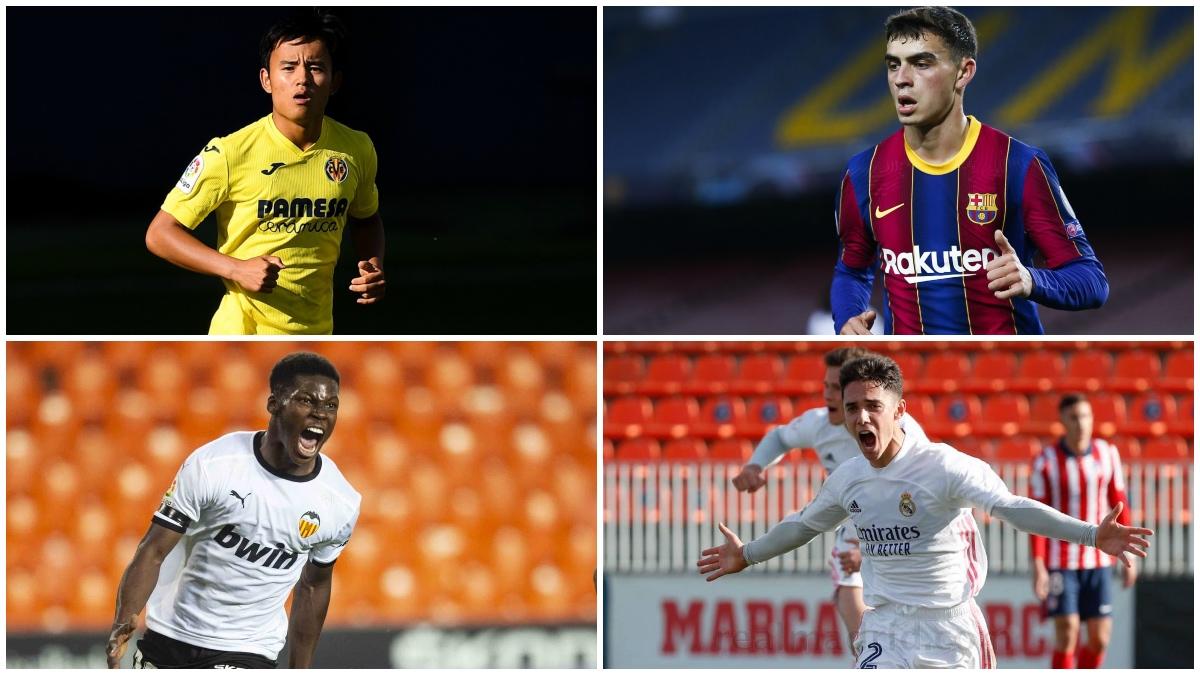 Cuatro jugadores de LaLiga entre las 50 promesas a seguir de la UEFA.