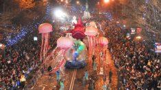 Cabalgata de Reyes en Barcelona 2021