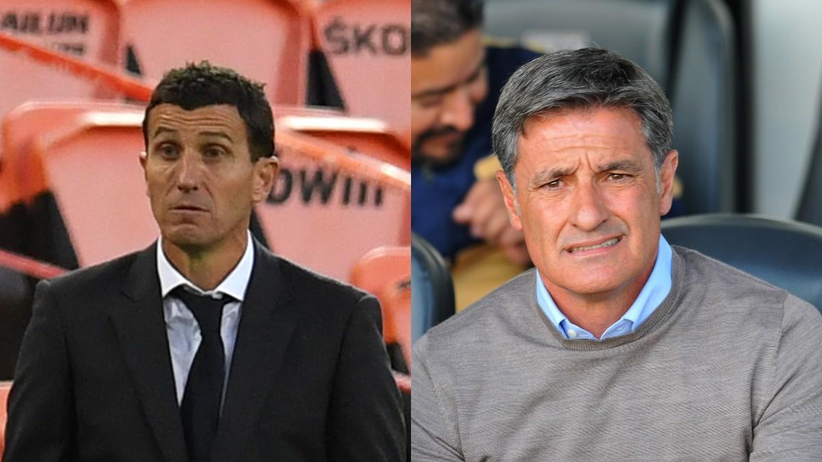 Míchel, principal candidato para relevar a Javi Gracia en el banquillo del Valencia.