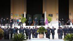 Funeral del agente fallecido por Covid.