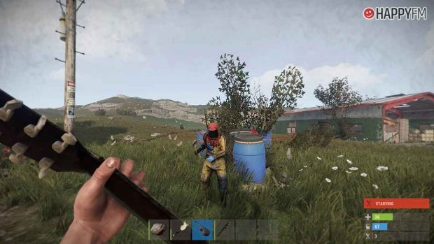Rust, el nuevo juego al que El Rubius ha lanzado al estrellato