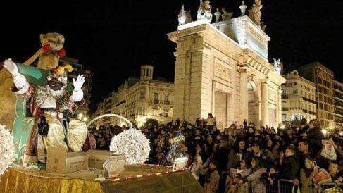 Cabalgata de Reyes 2021 en Valencia
