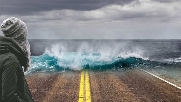 Aumento en el nivel del mar