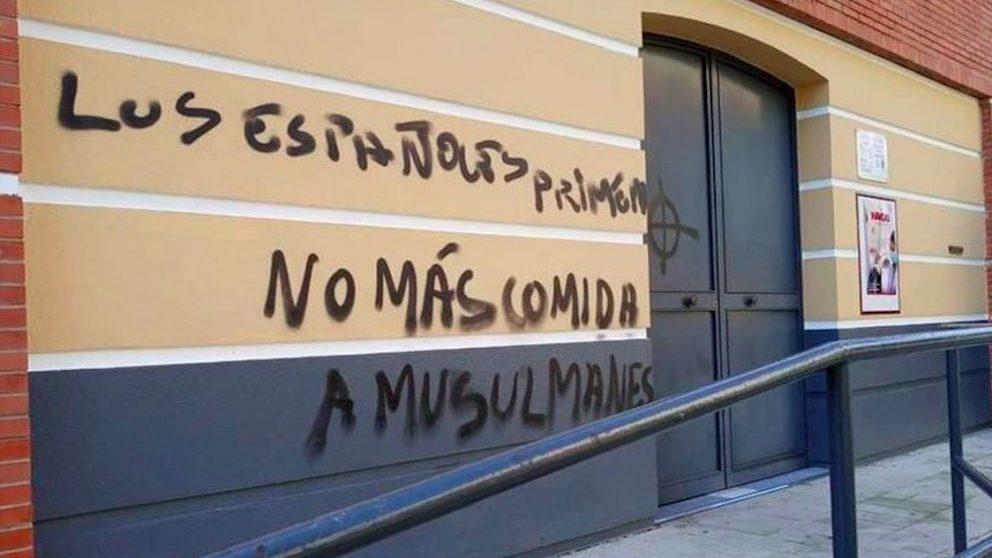Acto vandálico en Sevilla.
