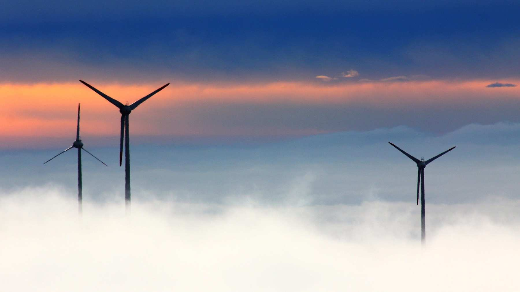 Tipos de energías renovables.